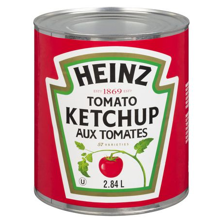 Heinz ketchup aux tomates 2,84 litres